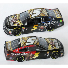Kasey Kahne #5 NASCAR 2017 HM Chevrolet Great Clips...