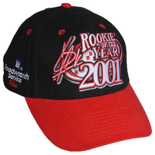 Baseball Cap Hat NASCAR #29 Rookie Of The Year 2001 Kevin Harvick RCR