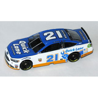 Ryan Blaney #21 NASCAR 2017 WB Ford Quick Lane 1:64