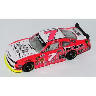 Regan Smith #7 NASCAR NATIONWIDE 2013 JRM CHEVROLET Fire Alarm Services Pink 1:64