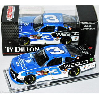 Ty Dillon #3 NASCAR NATIONWIDE 2014 RCR CHEVROLET Wesco 1:64