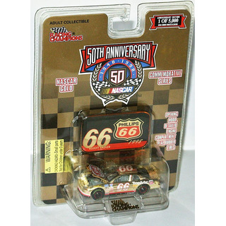 Elliott Sadler #66 NASCAR 1998 DRM CHEVROLET Phillips 66 1:64 gold chrome