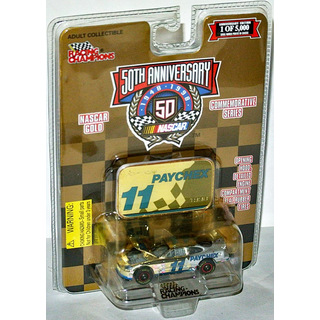 Brett Bodine #11 NASCAR 1998 BBR FORD Paychex 1:64 gold chrome