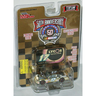 Matt Kenseth #17 NASCAR 1998 RE CHEVROLET Lycos 1:64 gold chrome