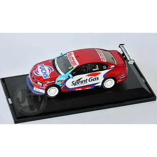 Jason Bargwanna #3 V8 Supercars 2009 SGR HOLDEN VE COMMODORE 1:64