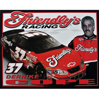 Derrike Cope #37 Nascar 2002 Autogrammkarte Friendly´s Quest Motor Racing
