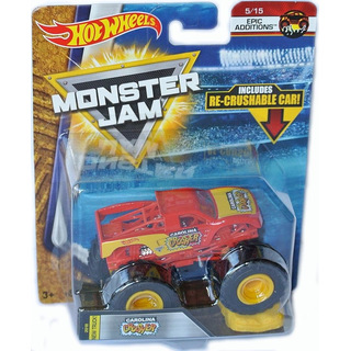 Monster Jam Monster Truck 2017 CAROLINA CRUSHER 1:64