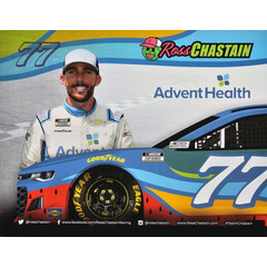Ross Chastain #77 Nascar 2020 Autogrammkarte Advent...