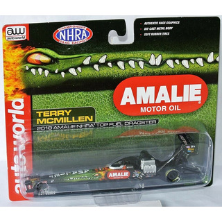 Terry McMillen NHRA Top Fuel Dragster 2018 Amalie Oil 1:64