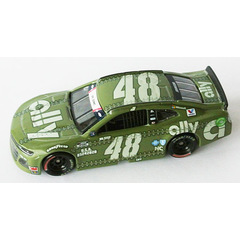 Jimmy Johnson #48 NASCAR 2020 HMS CAMARO ALLY PATRIOTIC 1:64