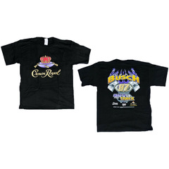 Nascar T Shirt Piston Flame #97 Kurt Busch Crown Royal...