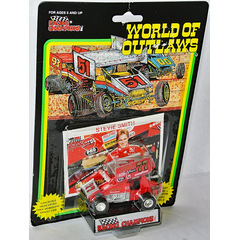 World Of Outlaws #77 SPRINT CAR 1993 Stevie Smith 1:64 /...