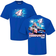Nascar T-Shirt Buschhhhh Light Patriotic #4 Kevin Harvick...