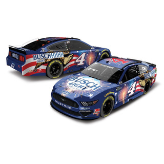 Kevin Harvick #4 NASCAR 2020 SHR Ford Buschhhhh Light Patriotic 1:64