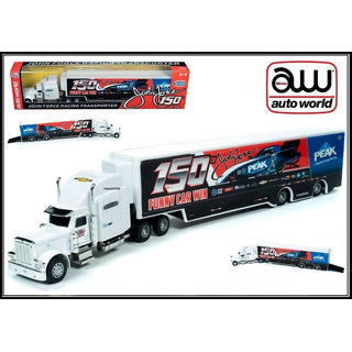 JFR NHRA Hauler Team Transporter 2020 John Force Peak 150th Funny Car Win 1:64