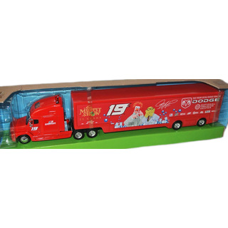 NASCAR 2002 Evernham Motorsports Hauler Team Transporter #19 Jerremy Mayfield DODGE - 25 YEARS MUPPET SHOW 1:64