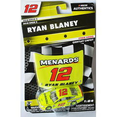 Ryan Blaney #12 NASCAR 2018 TP Ford Menards Duracell 1:64...