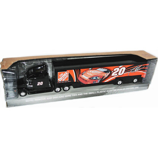 NASCAR 2007 Joe Gibbs Racing Hauler Team Transporter #20 Tony Stewart THE HOME DEPOT 1:64