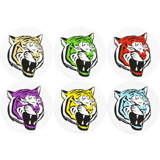 Set Aufkleber Sticker Decal DF1 Racing TIGER -  alle 5 Farben