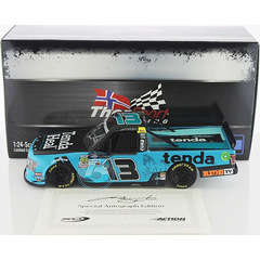 AUTOGRAPHED Johnny Sauter #13 NASCAR TRUCK 2019 TSR Ford...