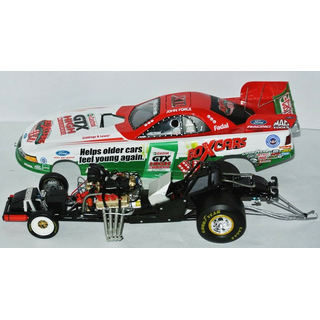 John Force NHRA Nitro Funny Car 2003 Castrol GTX High Mileage 1:24 12x Champion