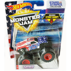 Monster Jam Monster Truck 2017 MAX-D Stars and Stripes 1:64