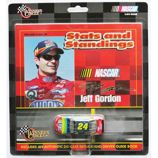 Jeff Gordon #24 NASCAR 1999 HM Chevrolet Dupont 1:64 + Driver Guide Book