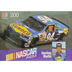 Nascar Puzzle 200 Teile Sterling Marlin #94 Sunoco