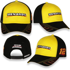 Baseball Cap Hat 2021 NASCAR #12 Ryan Blaney Menrads Team...