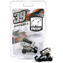 World Of Outlaws Sammy Swindell #39 SPRINT CAR 2021 Bear...