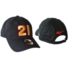 New Era Nascar Baseball Cap Hat #21 Gold Lettering - Matt...