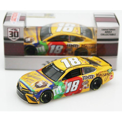 Kyle Busch #18 NASCAR 2021 JGR Toyota M&M´S Messages...
