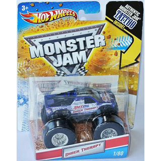 Monster Jam Monster Truck 2011 SHOCK THERAPY 1:64
