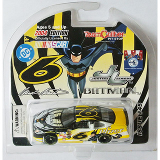 Mark Martin #6 NASCAR 2004 RR Ford Pfizer Batman 1:64