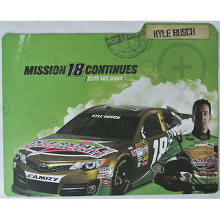 Kyle Busch #18 Nascar 2013 Autogrammkarte Interstate All Battery Center Joe Gibbs Racing