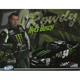 Kyle Busch #54 Nascar 2013 Autogrammkarte Monster Energy Joe Gibbs Racing