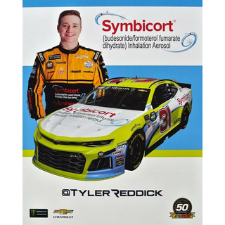 Tyler Reddick #31 Nascar 2019 Autogrammkarte Symbicort Richard Childress Racing
