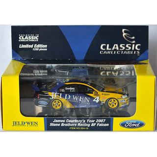James Courtney #4 V8 Supercars 2007 SBR FORD BF FALCON 1:43